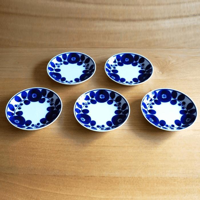 【ふるさと納税】TA15 【BLOOM】ブルーム プレート(SS)リース 5枚セット 【白山陶器】
