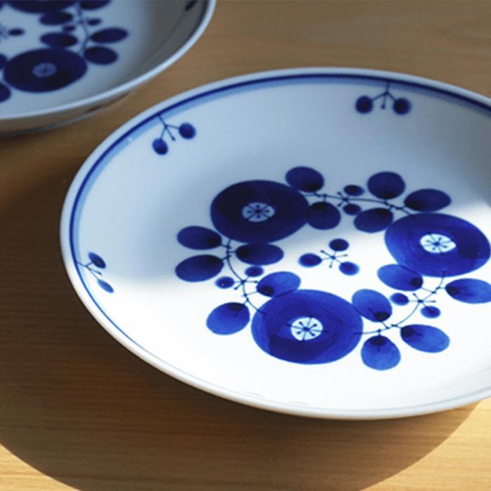 【ふるさと納税】TA18 【BLOOM】ブルーム プレート(S)ブーケ 5枚セット【白山陶器】