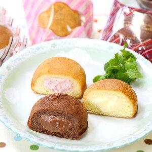 【ふるさと納税】熊本菓房 カスタードケーキ 合計30個 カスタードクリーム 10個 チョコ 10個 ストロベリー 10個 お菓子 スイーツ おやつ 詰め合わせ セット お取り寄せ 冷凍 送料無料