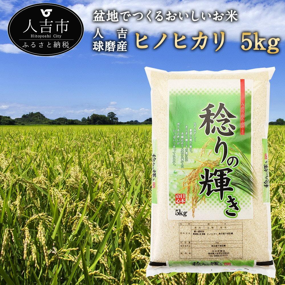 【ふるさと納税】人吉球磨産 ヒノヒカリ 5kg 米 白米 精米 国産 九州産 熊本県産 送料無料
