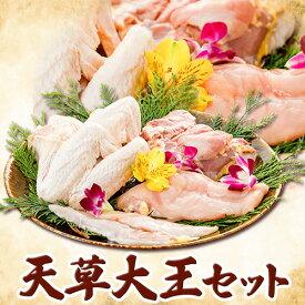 【ふるさと納税】熊本県産 天草大王セット もも肉 むね肉 ささみ 大手羽 パック 荒尾市 熊本県《30日以内に順次出荷(土日祝除く)》鶏肉 アントレ