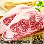熊本の和牛 あか牛 サーロイン ステーキ 250g×2枚 500g