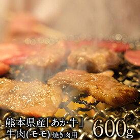 【ふるさと納税】熊本県産(あか牛)焼肉用牛肉モモ約600g 肉のさかえ屋 熊本あか牛 赤牛 あかうし《60日以内に順次出荷(土日祝除く)》