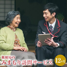 【ふるさと納税】みまもり訪問 サービス 12ヶ月 年12回 日本郵便株式会社 熊本県 水俣市 家族 両親 健康 安否確認 見守り 安心 代行 高齢者
