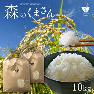 【ふるさと納税】熊本県玉名産お米「森のくまさん」(10kg)