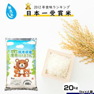 RA-146【ふるさと納税】【無洗米】令和元年産 森のくまさん20kg