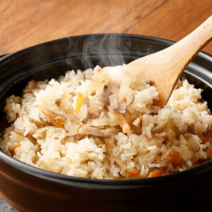 【ふるさと納税】炊き込みご飯セット 炊き込みご飯の素 2合×4袋 菊池米 3kg お米 セット 炊き込みご飯 白米 ひのひかり にこまる 送料無料