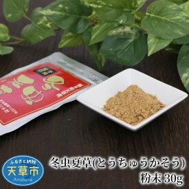 【ふるさと納税】冬虫夏草(とうちゅうかそう)粉末 30g