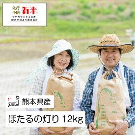 【ふるさと納税】「ほたるの灯り」 熊本県なごみ町産 12kg
