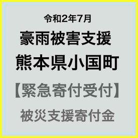 【ふるさと納税】【令和2年7月 豪雨災害支援緊急寄附受付】熊本県小国町災害応援寄附金(返礼品はありません)