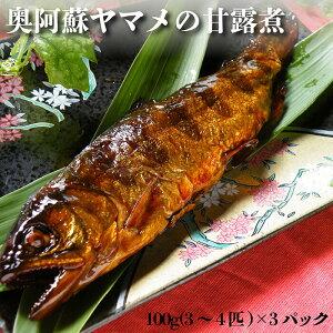 【ふるさと納税】005-102 奥阿蘇 ヤマメ 甘露煮/山女魚 川魚 熊本県 人気