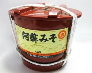 【ふるさと納税】006-105 阿蘇のあわせ味噌 3.8kg 朱樽入り