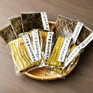 【ふるさと納税】阿蘇たかな 詰め合わせ 4種類 セット (醤油漬・油炒め-たかなめしの素-・油炒め-熊本県産ハバネロ入り-・本発酵たかな漬) つけもの 漬物 高菜飯の素 高菜飯 たかな 高菜 詰