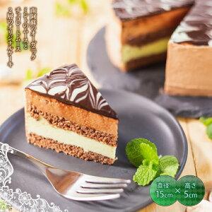 【ふるさと納税】南阿蘇のオーガニックミント使用 チョコミントケーキ