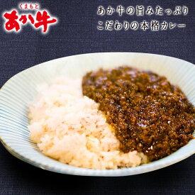 【ふるさと納税】南阿蘇あか牛スパイスキーマカレー辛口4食(グルテンフリー)