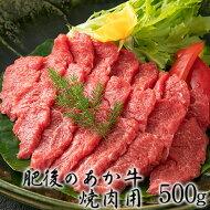 肥後のあか牛 焼き肉用500g