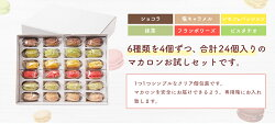【ふるさと納税】とろとろマカロン6種24個入6種類×各4個スイーツ洋菓子お菓子マカロン一流パティシエが認めるホテル使用品食べ比べ冷凍送料無料