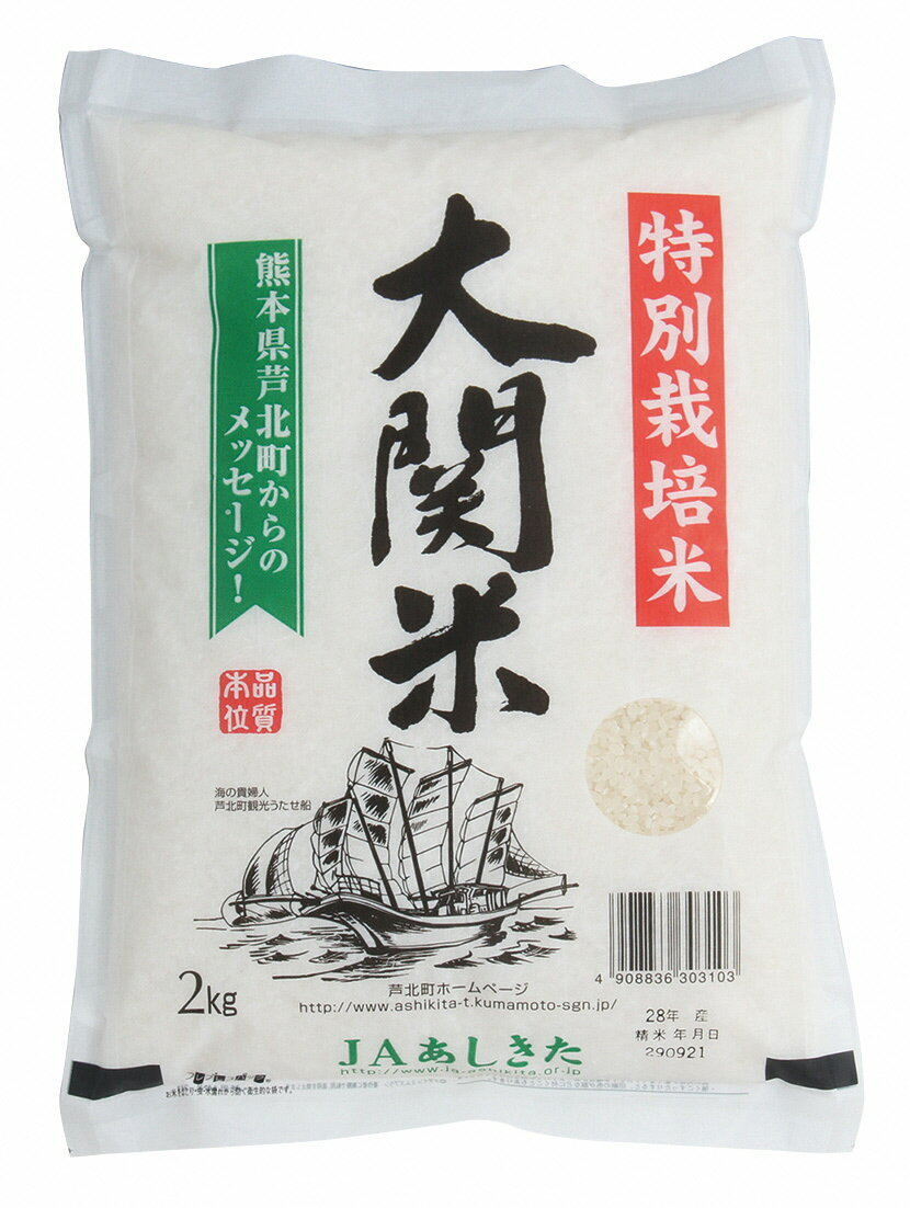 【ふるさと納税】大関米5kg×2袋【30年度産新米】熊本県産 ヒノヒカリ