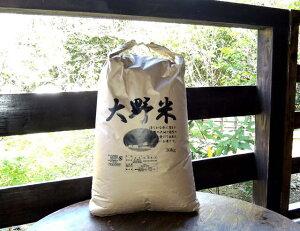 【ふるさと納税】大野米【玄米】30kg ヒノヒカリ 新米 熊本県産