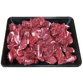 【ふるさと納税】国産牛交雑種角切り 【肉/牛肉/ブロック肉/スネ】