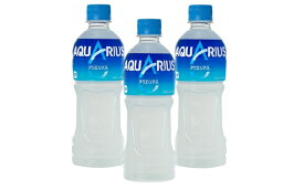 【ふるさと納税】アクエリアス 500mlPET2ケース 【飲料類/水/スポーツドリンク・コカコーラ】