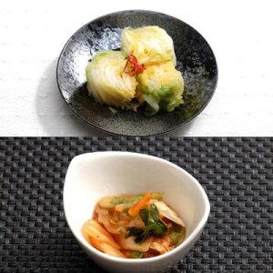 【ふるさと納税】白菜漬けと元気キムチセット 【発酵食品・発酵食品・発酵食品】