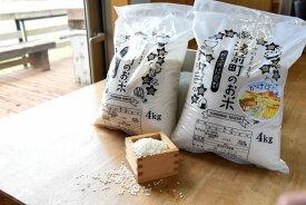 【ふるさと納税】熊本県湯前町産 2種のお米食べ比べセットC 4kg×2袋 精米 令和3年度産 送料無料 米 にこまる 2021年11月〜順次出荷予定 EZ007
