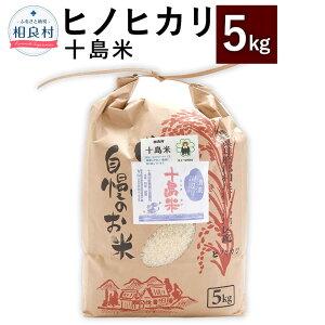 【ふるさと納税】十島米 5kg ヒノヒカリ 令和2年産 米 白米 お米 ご飯 精米 復興 支援 九州産 熊本県産 相良村産 送料無料