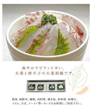 【ふるさと納税】大葉胡椒4個セットK01013【大分県大分市】