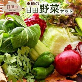 【ふるさと納税】季節の日田野菜セット 1箱 大分産 詰め合わせ 送料無料