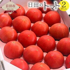 【ふるさと納税】日田のトマト 2ケース 大玉トマト ミニトマト 大分産 送料無料