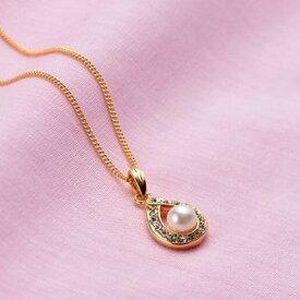 【ふるさと納税】アコヤ真珠6ミリ珠ペンダント(45cm)