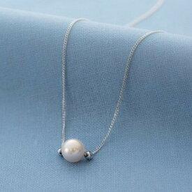 【ふるさと納税】アコヤ真珠1粒ネックレス