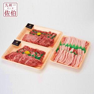 【ふるさと納税】大分県の恵みいっぱい!牛肉と豚肉のコンビセット 1.1kg