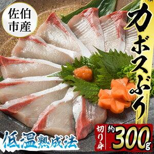 【ふるさと納税】(刺身用)佐伯産カボスぶり 低温熟成魚切り身 約300g