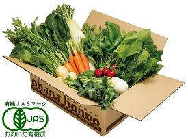 【ふるさと納税】有機JAS認証★ohanaのオーガニック野菜セット(8品目)