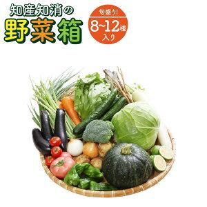 【ふるさと納税】旬盛り! 地産地消の 野菜箱』【8〜12種】 野菜 詰め合わせ 旬の野菜 送料無料