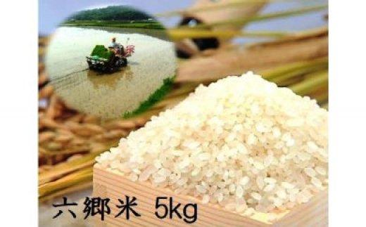 自然の恵みたっぷり六郷米5kg