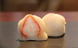 【ふるさと納税】季節限定・完熟いちごのいちご大福 6個入り