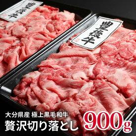 【ふるさと納税】(計900g)おおいた豊後牛おまかせ切り落とし