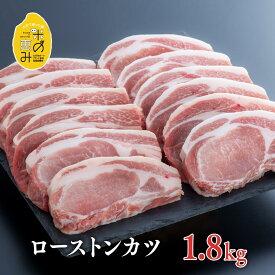 【ふるさと納税】中川さんちの米の恵み豚ローストンカツ(150g×12枚)