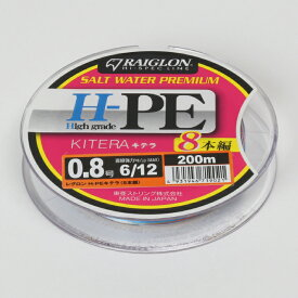 【ふるさと納税】レグロン H-PE キテラ 8本編 ライン 釣り糸 RAIGLON 0.8号 1号 1.5号 2号 3号<23-A5083>