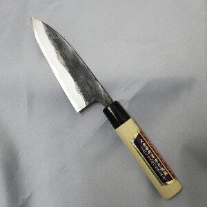 【ふるさと納税】刀匠が丹精込めて仕上げた切味抜群 小包丁(刃渡120mm) 伝統 工芸<39-B0017>