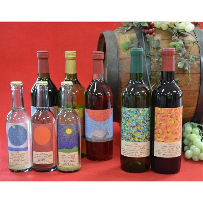 【ふるさと納税】安心院*小さなワイン工房のワイン8本セット
