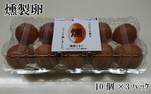 【ふるさと納税】燻製卵30ヶ入り タマゴ 30個 卵 鶏卵 鶏 くんたま クンタマ 産地直送 国産 九州産 冷蔵 送料無料