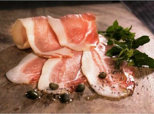 【ふるさと納税】味わい濃厚!大分県産豚の贅沢生ハム(0.77kg)