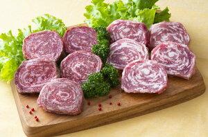 【ふるさと納税】豊後牛と桜王豚のロールステーキセット(10枚/800g)