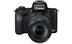 【ふるさと納税】キヤノンミラーレスカメラ(EOS Kiss M EF-M18-150 IS STM レンズキット・ブラック)