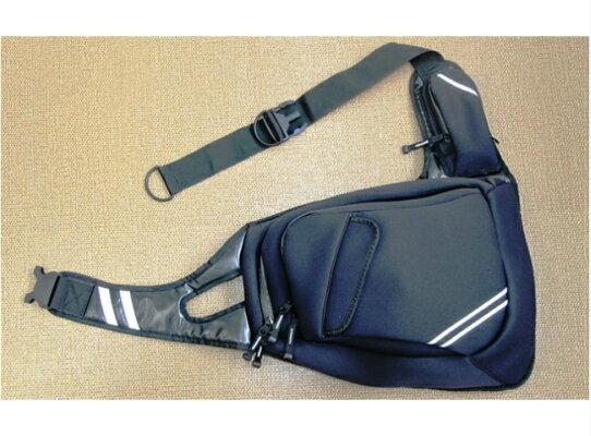 【ふるさと納税】ウエットスーツ素材で作ったワンショルダー防水バッグ・通
