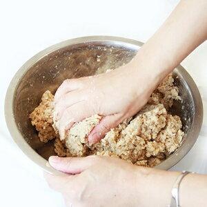 【ふるさと納税】阿部三郎商店 「手前味噌」手作りセット(麦)(2kg仕上がり) AW09【1111769】